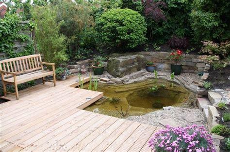Terrasse Mit Teich Pinterest  Nowaday Garden