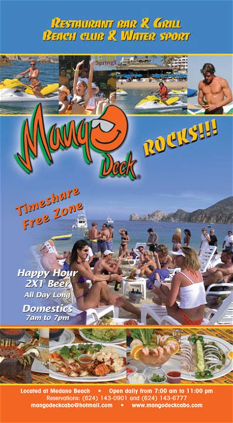 mango deck los cabos visitor s guide issue 8 2008 2009