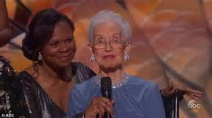 Former NASA mathematician, 98, gets her moment at Oscars ...