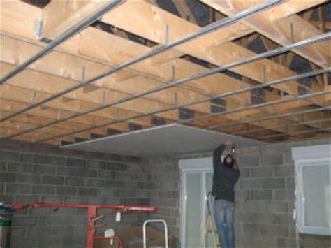 placo plafond fini notre maison mikit
