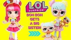 LOL Surprise Bon Bon Gets A Big Sister DIY Shopkins ...