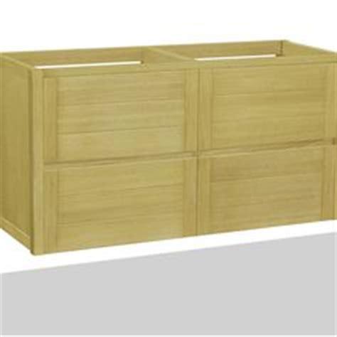 meuble sous vasque fairway bois l119xh51 5xp50cm 4 tiroirs leroy merlin salle de bain
