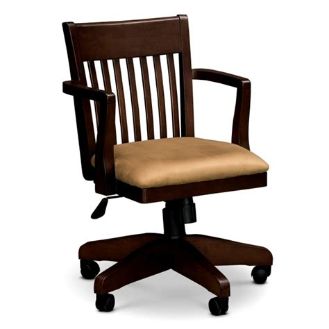 wood office chair plans chairs casters for with wheels without arms design wooden swivel desk