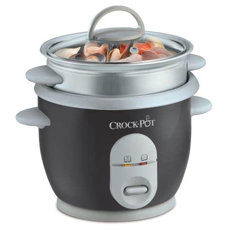 crock pot small rice cooker steamer ckcprc4726 crockpot