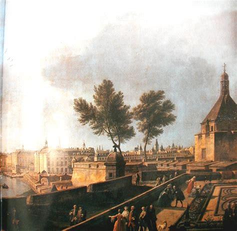 tableau vue du port de bordeaux