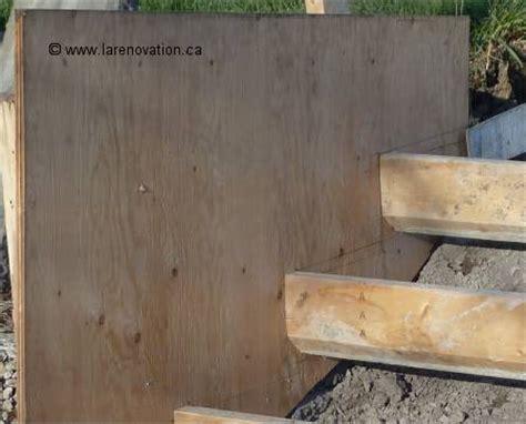 comment faire un escalier en beton de conception de maison