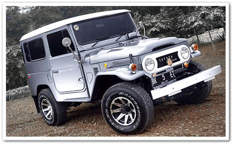 Toyota Land Cruiser Fj40, Jeep Offroad Legendary Ever
