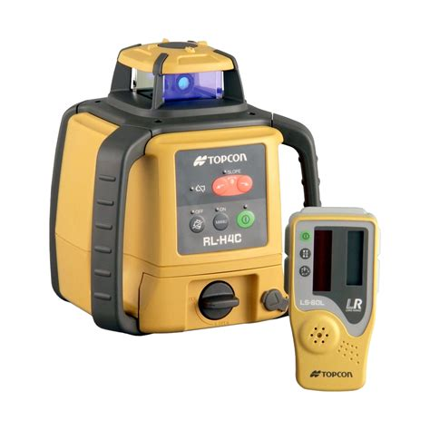 Slope Level by Topcon Rl H4c Rotary Slope Laser Level With Ls 80l