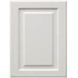 White Kitchen Cabinet Doors by Shop Surfaces 11 In X 15 In White Engineered Wood