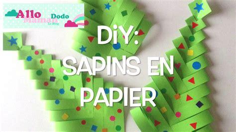 diy sapins de no 235 l en papier bricolage facile pour no 235 l
