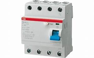 Fi Typ A : abb f204a 25 0 5 fi schutzschalter typ a in 25 a 4 pol 500 ma g nstig kaufen mesch elektrohandel ~ Markanthonyermac.com Haus und Dekorationen