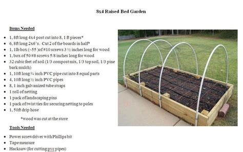 4x8 raised bed garden plans garden gardens beds and raised beds
