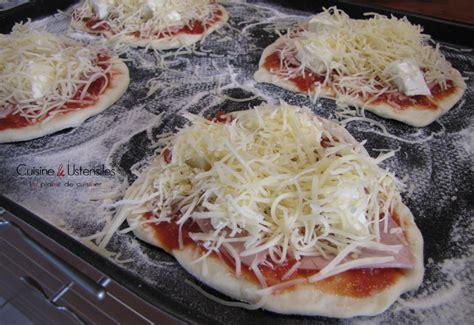 mini pizza maison au kiri