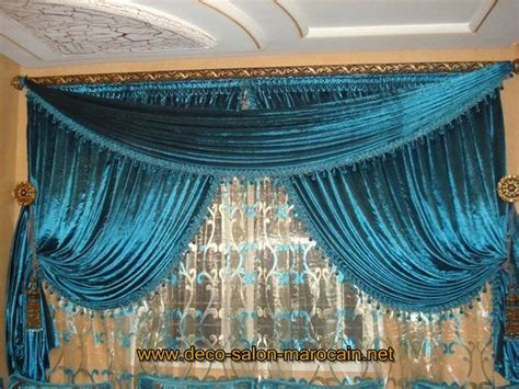 rideaux salon marocain grenat 2015 salon marocain d 233 co