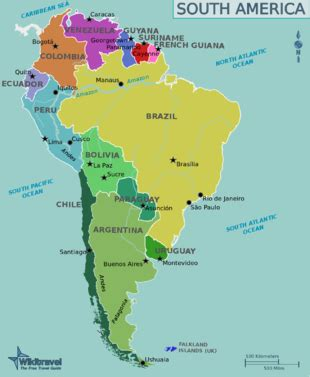 South America Travel Guide Wikitravel