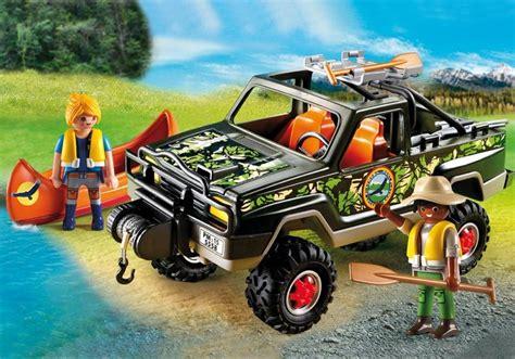 Reddingsvest Wiki by Playmobil Set 5558 Adventure Pickup Truck Klickypedia