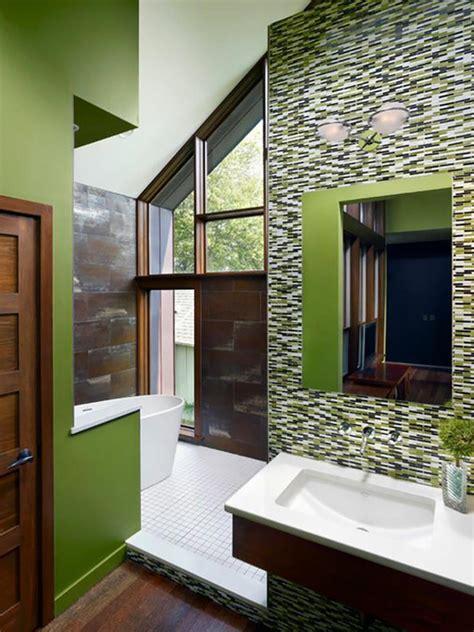 d 233 co reposante et tendance en vert pour la salle de bain design feria
