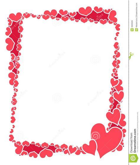 trame ou cadre de coeurs de image libre de droits image 3909326