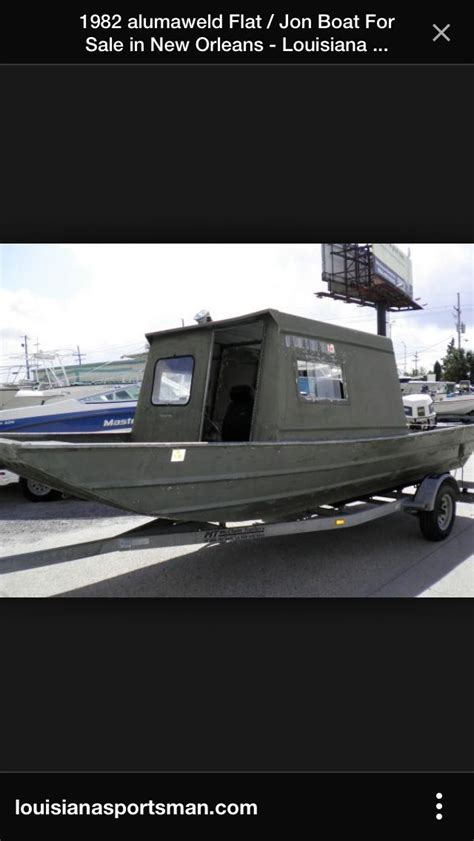 Aluminium Boot Cabin by Die Besten 25 Jon Boat Ideen Auf Pinterest Aluminium