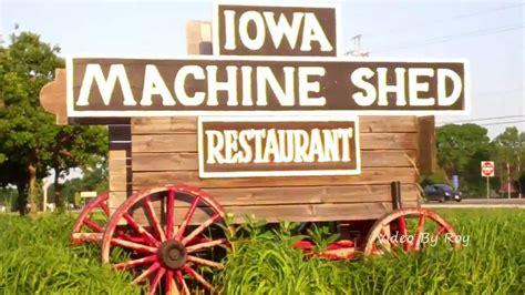 the iowa machine shed restaurant in urbandale des moines iowa