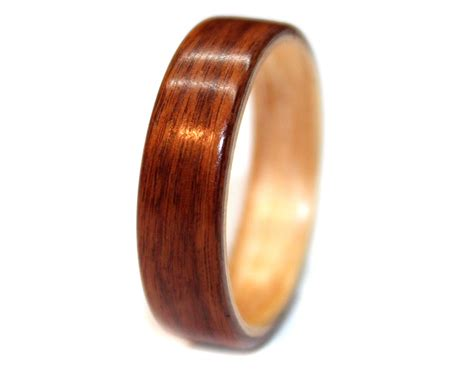 Rosewood And Birch Wood Ring Bentwood  Wooden Rings. Wedding Band Rings. Elephant Earrings. Wing Rings. Ocd Awareness Bracelet. Gold Square Necklace. Star Bracelet. Thick Gold Bands. Costume Jewellery Necklace
