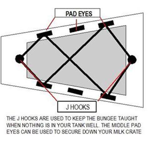 bungee deck kit for kayak canoes fishing rigging accessories dk1 ebay