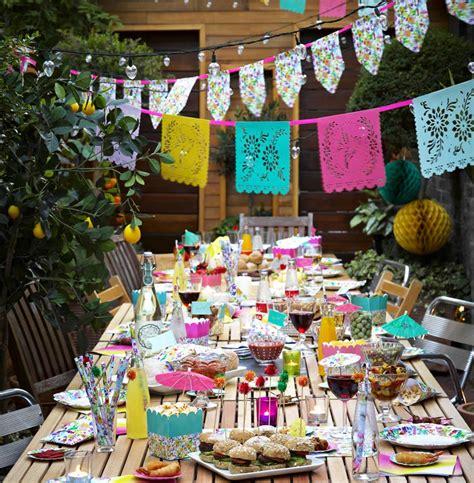 brightly coloured mexican wedding theme ideas