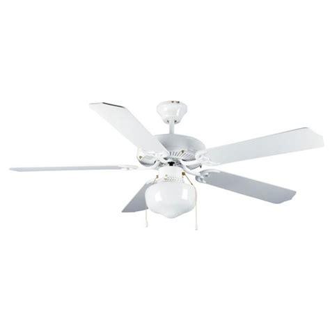mainstays 52 quot dual mount one light ceiling fan white walmart
