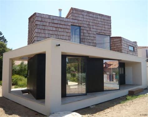 maison cubique maison en cube d architecte maison bois
