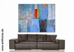 Bilder Günstig Kaufen : blaue unendlichkeit acrylmischtechnik leinwand mit spachtelmasse 140 105 cm original 840 ~ Markanthonyermac.com Haus und Dekorationen