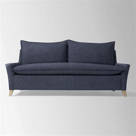 bliss sleeper sofa west elm the new house