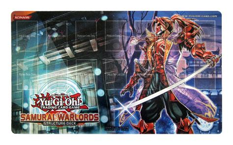 yugioh samurai warlords structure deck playmat shadow of