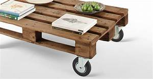 Tisch Mit Rädern : tisch aus paletten 33 wunderbare ideen ~ Markanthonyermac.com Haus und Dekorationen