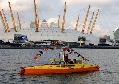 Pedal Boat Ocean by Man Returns From Round The World Pedal Boat Trip After 13