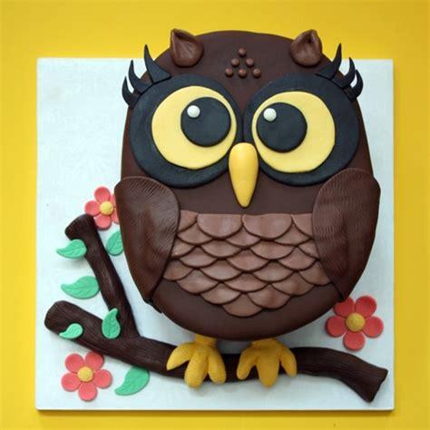owl birthday cake pin owl happy birthday cake pink box wedding cakes more