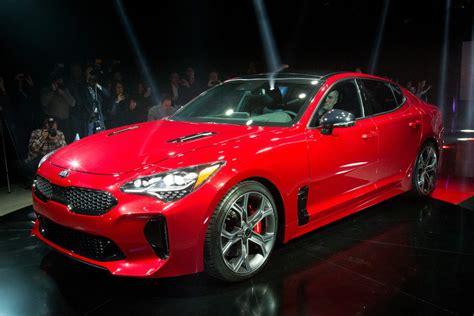 Kia Stinger Sports Sedan Starts At $32,800  News Carscom