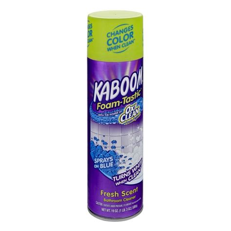 kaboom bathroom cleaner prepossessing foam tastic bathroom cleaner aerosol design ideas
