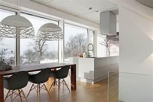 Split Level Haus Grundriss : split level wohnen an der lechleite modern esszimmer m nchen von fu ner k hne architekten ~ Markanthonyermac.com Haus und Dekorationen