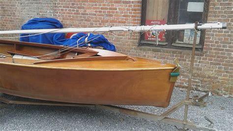 Open Zeilboot 3 Tot 6 Meter by Zeer Mooi Houten Classic Zeilboot Meer Dan 4 Meter Lang