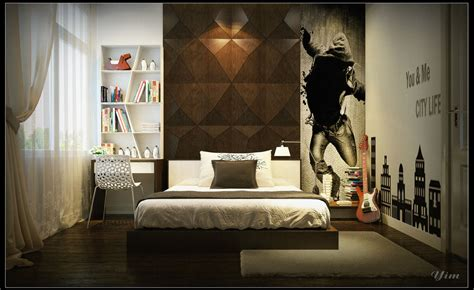cool bedroom wall designs for guys cool bedroom wall