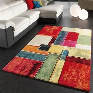 Türkische Teppiche Modern : teppich modern splash designer teppich bunt karo model neu ovp wohn und schlafbereich designer ~ Markanthonyermac.com Haus und Dekorationen