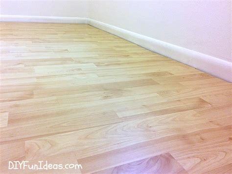 how to install beautiful laminate floors in one afternoon