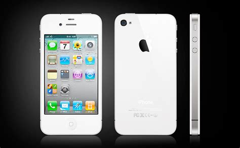 apple white iphone 4 uncrate