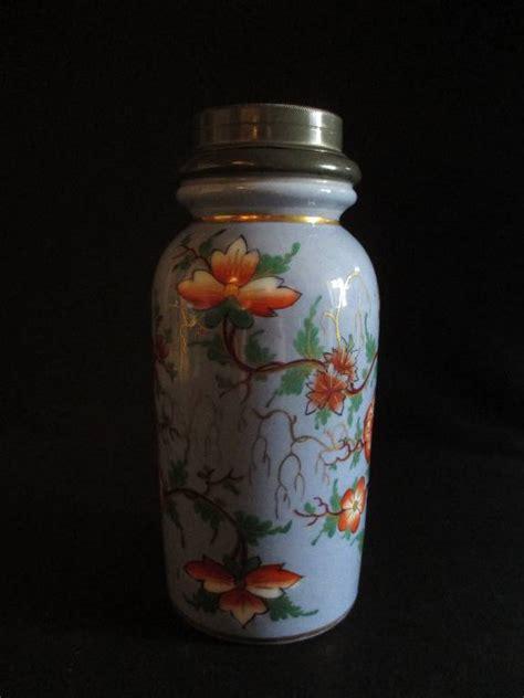 ancien pot 224 tabac porcelaine et 233 tain d 233 cor fleur peint chinoisant fin xix 232 me objets du