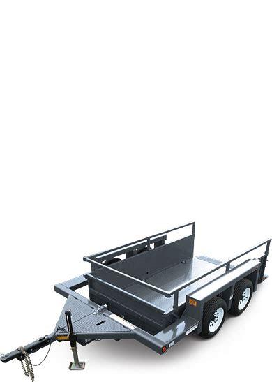 ut49 utility trailer jlg