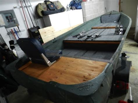 Bass Hunter Boat Modifications by How To V Hull Jon Boat Conversion Youtube