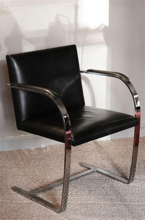fauteuil brno mies der rohe knoll vintage le buzz de rouen