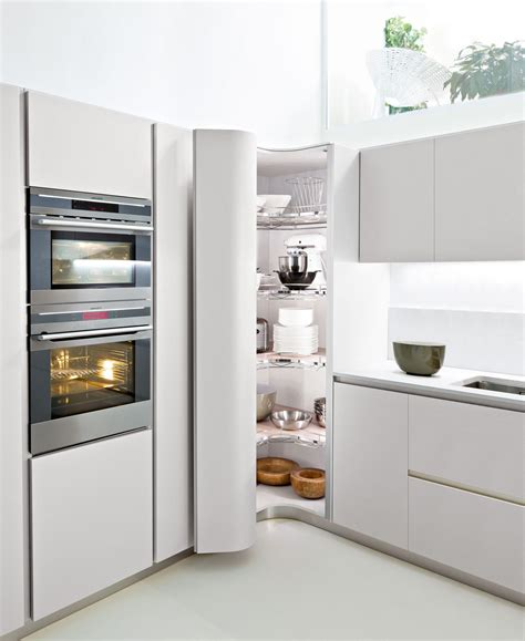 Large White Kitchen Storage Cabinets With Doors On Two