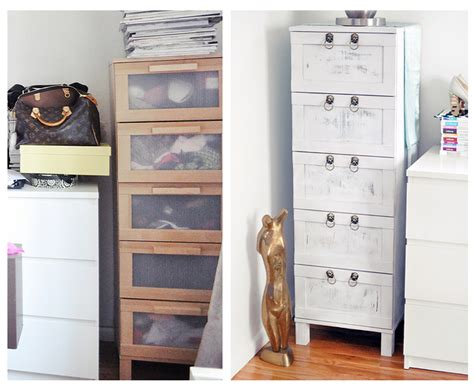 ikea aneboda dresser hack boring birch ikea chest of drawers makeover from drab to