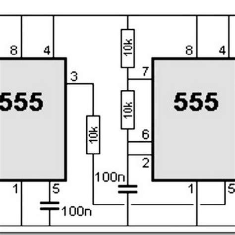 555 Timer Circuit Diagram Police Siren  Simple Schematic